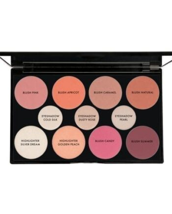 Ekologisk hudvård - Blush & Highlighter Palette -