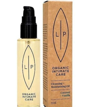Ekologisk hudvård - Lip Intimate Care - Cleansing & Moisturising Oil Coconut + Vanilla - Lip