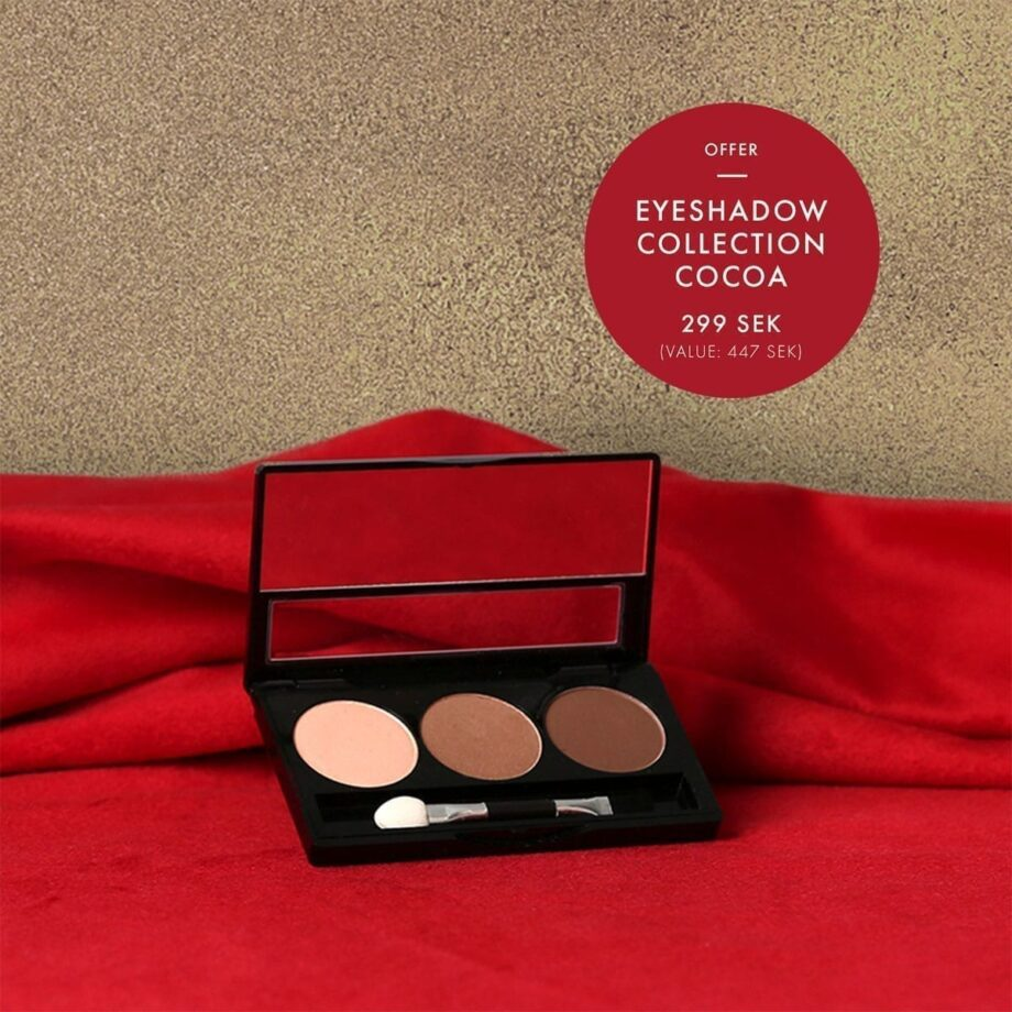 Ekologisk hudvård - Eyeshadow Collection Cocoa - Maria Åkerberg